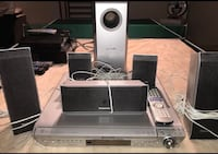 Surround sound with ( Disc DVD player)