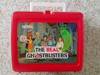 The Real Ghostbusters, 1980s Thermos Lunchbox. Smithtown