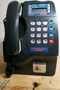 Pay phone for business or home pick up only