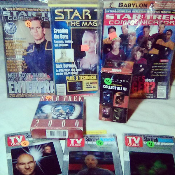 Star Trek magazines