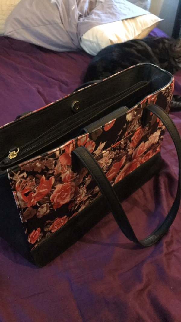 a6f575e14845 Used black and brown leather bag for sale in Saint Cloud - letgo