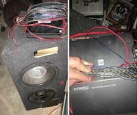 Two subwoofer with enclosure