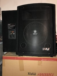 black and gray PA speaker Humble, 77338