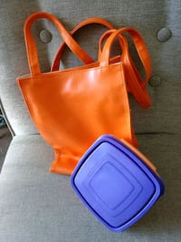 NWOT insulated lunch bag and food container