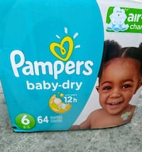 Pampers unopened box 3732 km