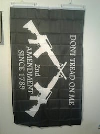 Don't Tread On Me 2nd Amendment Flag- new Las Vegas, 89145
