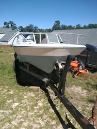 Old boat for sale with trailer and motor Lexington, 29073
