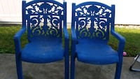 Patio chairs.  Both for 10.00 Piketon, 45661