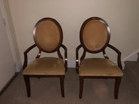 Heavy fancy dinning room chairs no table arm chairs Oakville, L6L 2X5