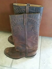 Slightly worn Steve Madden leather boots Chino Hills, 91709