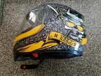 Helmet with face shield Size Adult Small 774 mi