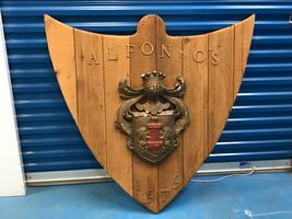 Hanging Mantel Decor - Coat of Arms