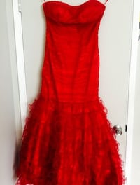 Gorgeous red prom/party dress with trail San Jose, 95129