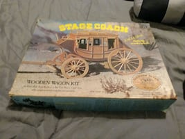 Stagecoach wooden wagon kit 1976