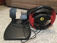 black and red racing wheel controller Strathroy-Caradoc, N7G