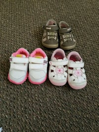 Brand new and barely worn baby girl shoes  Anchorage, 99503