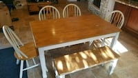 Farmhouse style dining table & chairs  Costa Mesa, 92627