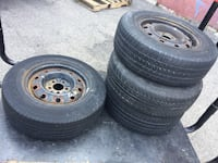 4 tires and still rims all season 215/70/15 Goodyear $60 for all tires and rims  Brampton, L6V 0W9