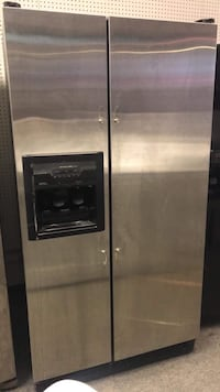 Kitchen aid brand stainless steel fridge with warranty