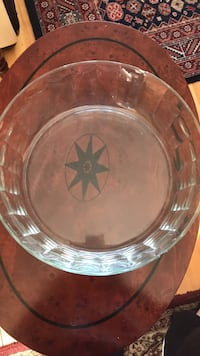 Big Crystal Glass Bowl  Laval, H7W 2S3