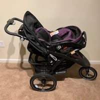 Baby Trend Expedition® Premiere Safety Jogger Travel System in Wisteria Purple Pooler, 31322
