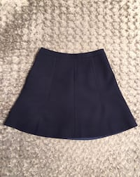 Women's J Crew navy blue skirt paid $79 size 0 excellent condition only worn once Washington, 20002