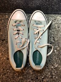 Pair of gray converse all star low top sneakers Fargo, 58104