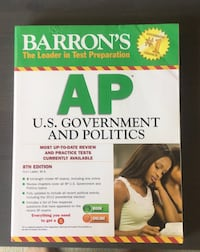AP Government prep book, little to no notes