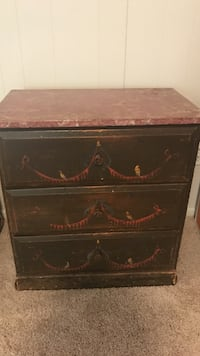 Hand painted end/ night table Baltimore, 21209