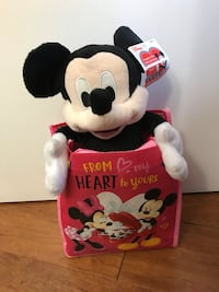 Brand new Mickey mouse stuffed (pick up only & price firm ) Alexandria, 22310