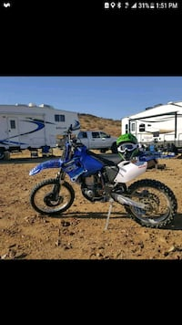 blue and white motocross dirt bike Whittier, 90601