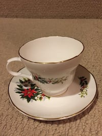 Fine Bone China Teacup and Saucer  Hamilton, L8J 2N9