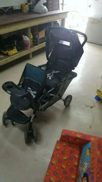 black and gray tandem stroller Beaumont, T4X 1E9