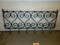 2 Black Wrought Iron Coat Hanger Units Chicago, 60626