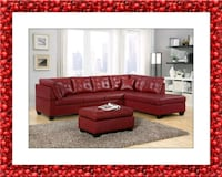 Red sectional Silver Spring, 20906