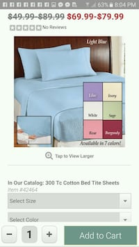 Twin sheet sets Florence, 35630