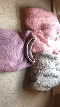 3 girls sweaters size 10/12 all 3 for $10 Solvay, 13209