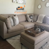 Brand new sectional sofa with ottoman  Silver Spring, 20901