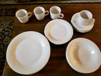 Dinnerware service for 4.