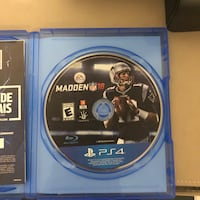 Sony ps4 madden nfl 18 game disc London, N6G 0G1