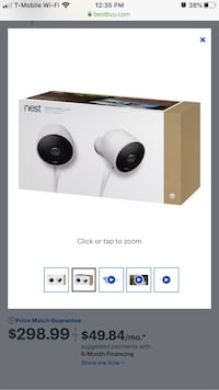 Nest Cam Outdoor (2) pack. Brand New
