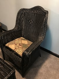 Vintage wicker chair and ottoman Germantown, 20876
