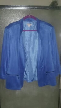 Blue Jacket  Size 3X  Lacy Lakeview, 76705