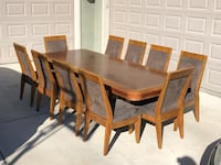 Large, well made dining set for 10 Riverton, 84096
