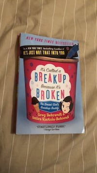 It's Called a Breakup because it's Broken book  Westmount, H3V 1E6