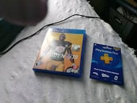 Madden 19 12month PlayStation plus subscription  Petersburg, 23803