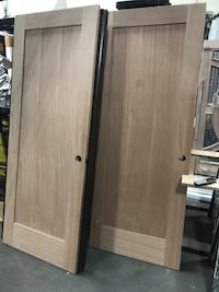 interior used mahogany doors shaker style 1-panel solid