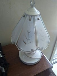 white and gray table lamp Orem, 84057