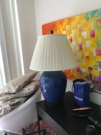 2 great retro blue lamps... take them both for $25 Miami Beach, 33139