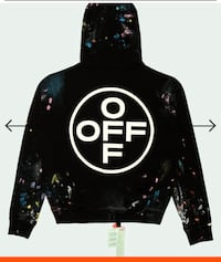 OFF-WHITE Empty Gallery S Size multicolor top , from official Off-White store S size , unpacked Lørenskog, 1473